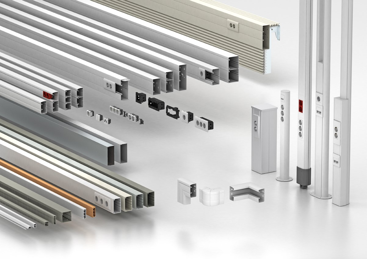 Cable Routing, Wall Trunking Systems - Eurolec Enrgy