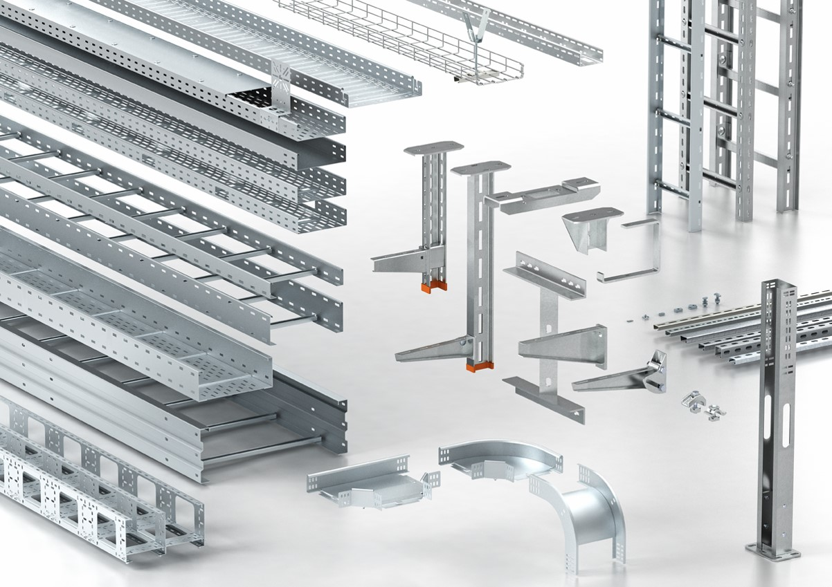 Cable Trays and support systems - Eurolec Energy Products