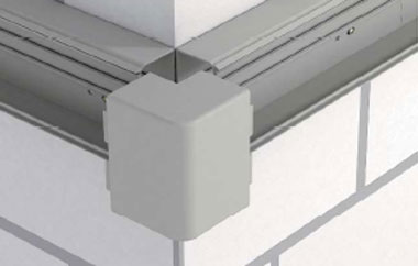Mounting of external corner hood fitting - Eurolec Energy Products