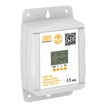 Lightning current meter - Eurolec Energy Products