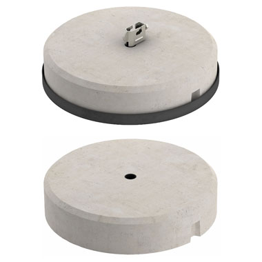 Concrete Block for Fang fix – System  - Eurolec Energy Products