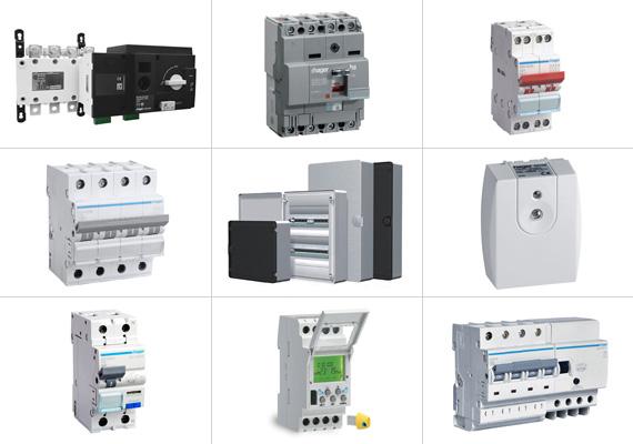MCB, MCCB, RCCB, RCBO, RCD+MCB modules, Distribution Boards, Movement Detectors, Presence Detectors - Eurolec Energy