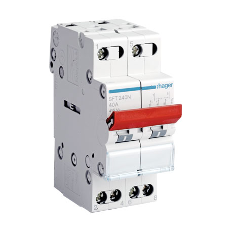 MCB type Changeover Switch - Eurolec Energy Products