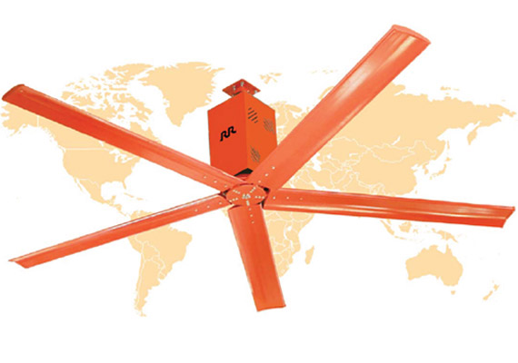HVLS fans, RR Electric - Eurolec Energy
