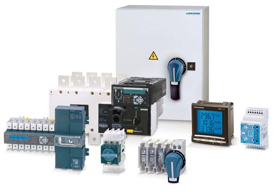 Load break switches, mcbs, Diris, countis meters - Eurolec Energy