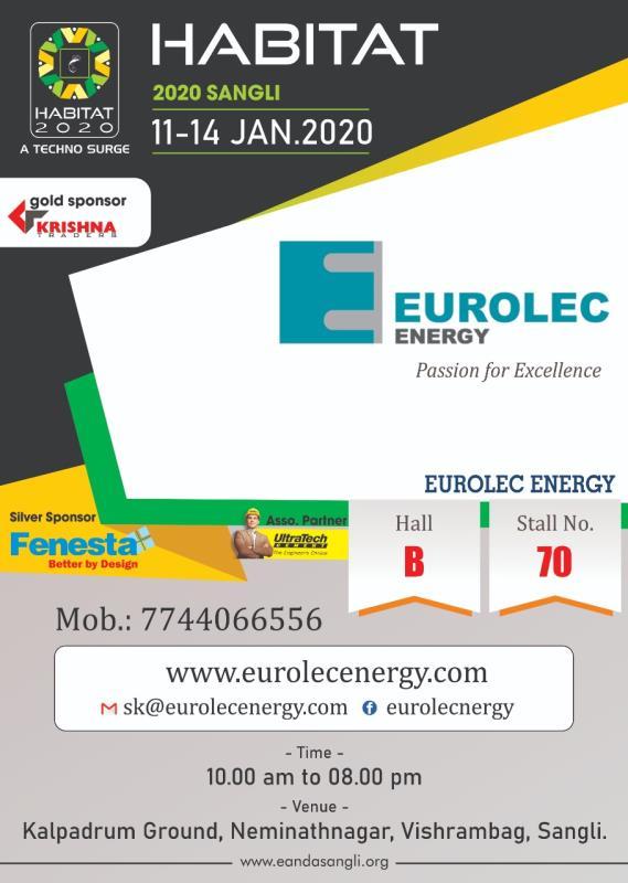 Eurolec Energy Stall No 70 - Habitat Exhibition Sangli